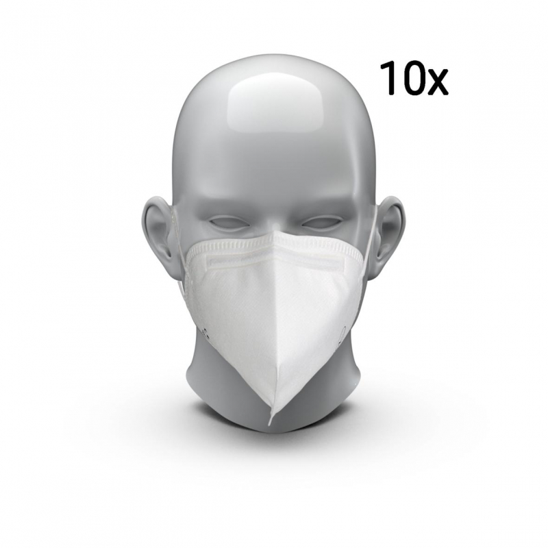 "Respiratory Mask A"" FFP2 NR (Set of 10)"