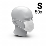 Mouth-and-nose mask 3-Ply set of 50, Size S