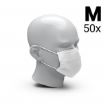 Mouth-and-nose mask 3-Ply set of 50, Size M