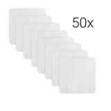Fleece pad refill pack, set of 50